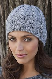 Ravelry: Giada Cabled Hat pattern by TSC Design Studio