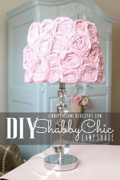 Simply Ciani: Shabby Chic Lamp Shade
