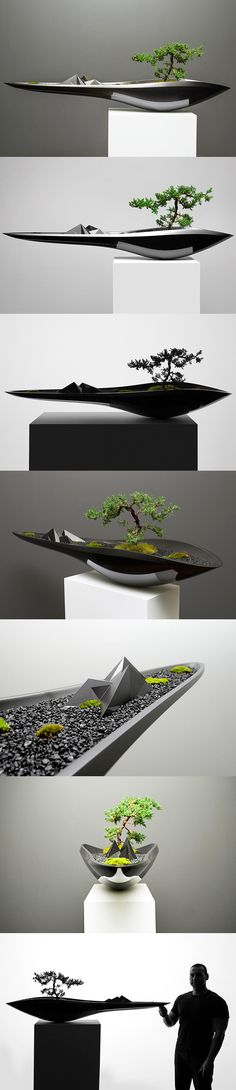 Adrian Magu The Kasokudo Bonsai Planter