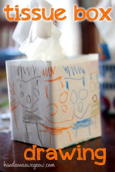 Kids Designs for Tissue Boxes