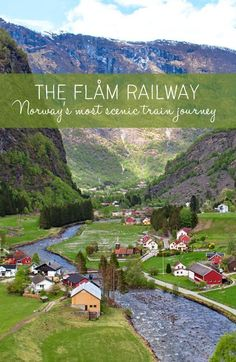 The Flåm Railway: Norway's most scenic train journey – On the Luce travel b… Norway Vacation, Norway Travel, Sweden Travel, Europa Tour, Places To Travel, Travel Destinations, Norway Fjords, Visit Norway, Train Journey