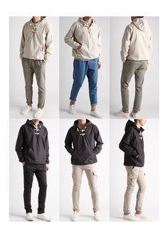 떡볶이단추 후드 바람막이 자켓-hoodjacket01 - [존클락]30대 남자옷쇼핑몰, 깔끔한 캐쥬얼 데일리룩, 추천코디
