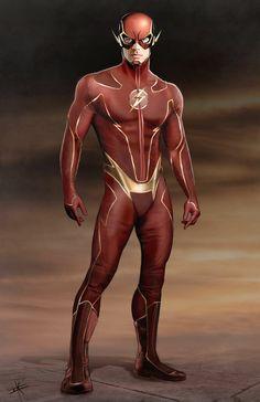The Flash - Marvelous Superhero Redesign Fan Art Examples
