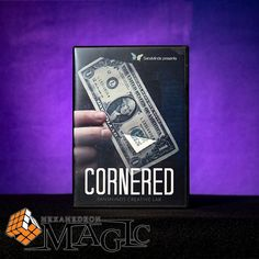 2017 New Cornered (DVD and Gimmick Set) by SansMinds Creative Lab - DVD close-up card magic trick products / wholesale