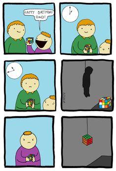 Rubik's Cube ( birthday , suicide )