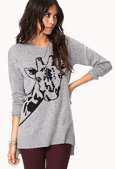Giraffe Sweater, $22, Forever21