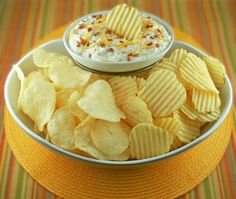 This easy recipe for Bacon Cheddar Dip when it comes to New Year's Eve party ideas.