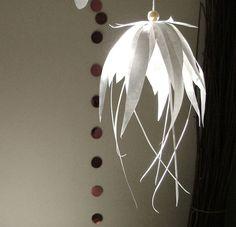 DIY: Paper flower ornament  via life:and:lim