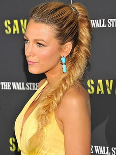 Hair inspiration for the weekend: Blake Lively's fishtail plait is taking the simple plait one step further - giving it the wow factor!