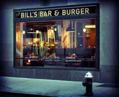 Bill's Bar & Burger Restaurant in Rockefeller Center serving up Bill's Brew