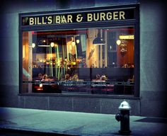 Bill's Bar & Burger Restaurant in Rockefeller Center serving up Bill's Brew