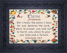 Name Blessings - Elaine2