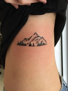 Mountain tattoo.For further inquiries kindly contact Yus at exotic@exotictattoopiercing.com.