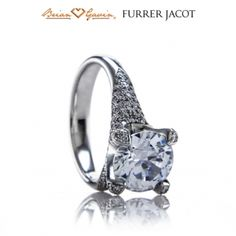 A lovely pave setting with a sprinkling of 154 total stones, the Snail is a magnificent piece. Furrer Jacot is available now at Brian Gavin Diamonds.