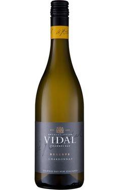 Vidal Reserve Chardonnay 2017 Hawke's Bay - 6 Bottles White Wines, Organic Wine, Sustainable Farming, Juicy Fruit, Tropical Fruits, French Oak, Bottles