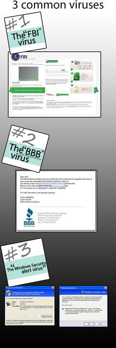 Learn how to prevent them: http://blog.itsaboutaction.com/2013/03/08/3-current-common-viruses-how-to-prevent-them/