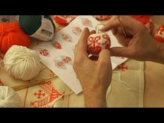 ARNE & CARLOS teach you how to make your own Christmas Balls - YouTube