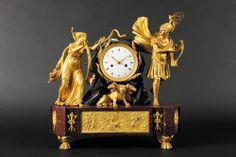 Grand Pendule - Orphée et Eurydice