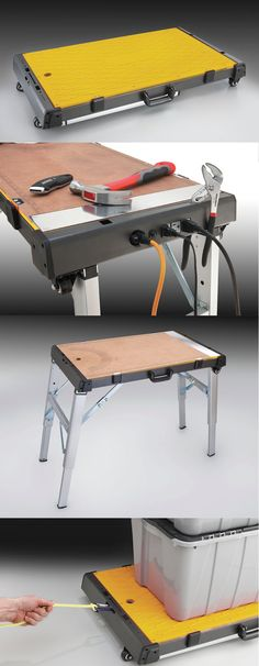 #Dad will love this multi-purpose work platform from #Benchmark for #FathersDay. He can use it as a work bench, dolly or creeper.