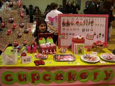 my valentine's day booth by thecupcakery girl, via Flickr