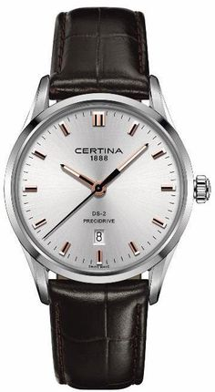 Certina Watch Mens Watch available to buy online from with free UK delivery. Dream Watches, Fine Watches, Rolex Watches, Wrist Watches, Gentleman Watch, Modern Gentleman, Luxury Watch Brands, Luxury Watches For Men, Affordable Watches