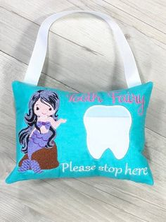 Keepsakes, Memory Books Tooth Fairy Pillow Butterfly Lost Tooth Pocket Cushion Birthday Gift