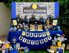"""Cop / Birthday """"Police Officer """" 