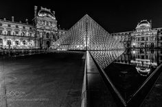 The Louvre in B/W by fredericmonin24 #architecture #building #architexture #city #buildings #skyscraper #urban #design #minimal #cities #town #street #art #arts #architecturelovers #abstract #photooftheday #amazing #picoftheday