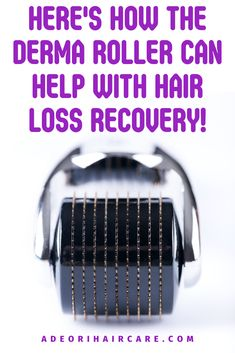Here's how the derma roller can help with hair loss recovery and bald spots, the best way to use it on bald spots, derma roller before and after pictures, and how to choose the best derma roller for you plus free shipping! #dermaroller #hairloss #baldspots #dermarollerhowtouse #dermarollerforhairgrowth Natural Hair Care, Natural Hair Styles, Micro Needle Roller, Bald Spot, Derma Roller, Stop Hair Loss, Hair Growth Oil, Recovery, Hair Roller