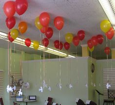 "Pentecost Balloons: ""Come Holy Spirit, fill the hearts of your faithful and enkindle in them the fire of your love. Day Of Pentecost, Prayer Stations, Bible Story Crafts, Saint Esprit, Altar Decorations, Church Banners, Kids Church, Church Ideas, Church Crafts"