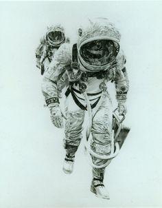Paul Calle Gemini 7 Astronauts
