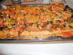 Heat's Kitchen: Taco Pizza