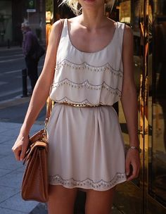 adore this springtime dress! #relaxed #style