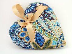 Handmade Fabric Heart