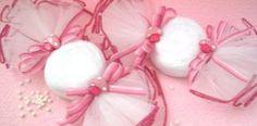 Toalla caramelo para baby shower