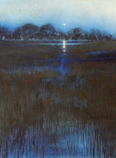 Naomi Tydeman RI, Moon Over Trees
