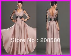 2014 New Arrival Pink V Neck Open Back Sequined Chiffon Floor Length Mother of the Bride Dresses with Sleeves M1772-in Mother of the Bride Dresses from Apparel & Accessories on Aliexpress.com | Alibaba Group