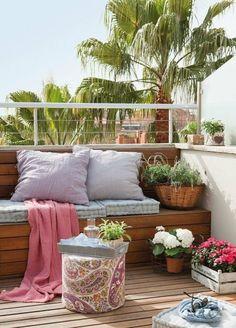 In einem expotischen Stil den Balkon bepflanzen