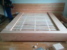 Diy bed bcfir beam sur mesure