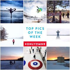 The snow and ice can be nice! What is your favorite Minnesota winter activity? Check out these #OnlyinMN pics to get inspired.