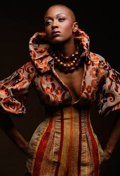Ethnic fashion outfit is amazing love this look/ African print clothing African Inspired Fashion, African Print Fashion, Africa Fashion, Ethnic Fashion, African Prints, African Patterns, African Attire, African Wear, African Women