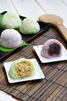 East meets east meets west in this recipe. This recipe was inspired by a Chinese mochi but uses a Japanese mochi recipe and is ...