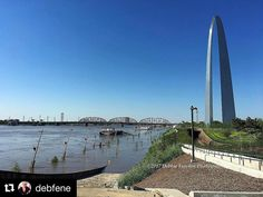 #Repost @debfene  #Mississippi River #flood in downtown #StLouis @GatewayArchSTL #tisl #stlwx #travel #NPS . . . #iphoneography #instagood #ig_color #picoftheday #photooftheday #showme_photos #metro_affair #everything_imaginable #theworld_thru_youreyes #efe_snapshots_daily #ig_myshot #ig_great_pics #ig_divineshots #ig_northamerica #aov #gatewayarch #missourionly #missouriadventure #midwestmoment #stlouisgram #usa_photolovers #picturetokeep_hdr