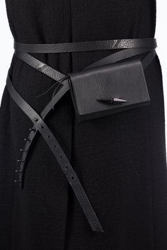 Gürteltasche Leder Schwarz Belt Bags, High, Frankfurt, Travel Accessories, Jewellery, Leather, Black, Style, Fashion