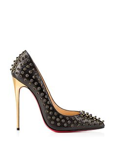 #CHRISTIANLOUBOUTIN Folliescabo 120mm Leather Pumps