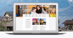 Commune de Nendaz Web Design, Polaroid Film, Design Web, Website Designs, Site Design