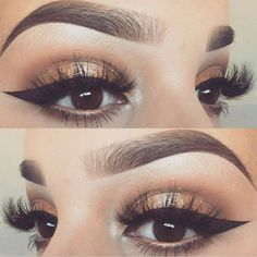 @slave2beauty - @audreystylesxo @audreystylesxo #makeup #eyelook #eyeliner #eyeshadow #eyebrows #makeupgirls #makeupartist #makeupaddict #makeuptutorial #makeupforever #makeuplover