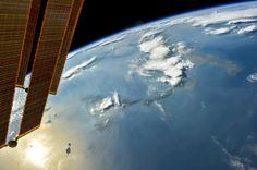 Sole per la Sicilia ... dalla #ISS, exp 40, June 12, 31-mm (Peter Caltner)
