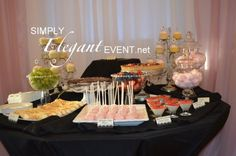 Bridal Shower | Baby Shower | Anniversary | Graduation | Birthday Party | Kids Party | Christmas Party | New Years Eve Party