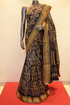 Royal Black Designer Pure Patola Silk Product Code: SSJD02712 To Shop Online Click here: http://www.janardhanasilk.com/index.php?route=product/product&product_id=1262&search=SSJD02712